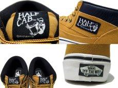 """画像4: NEW VANS """"HALF CAB"""" SUEDE Sneaker CAMEL size US 12  (4)"""