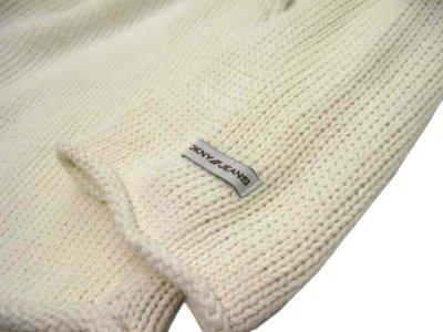 """画像3: 00's~ """"DKNY"""" Mock Neck Pullover Sweater  Ivory size M (表記 L)"""