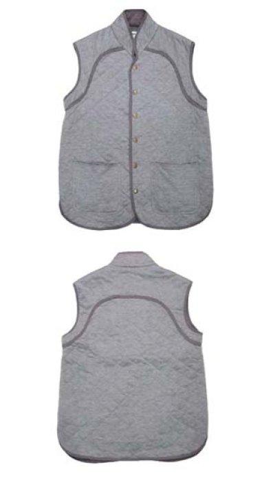 """画像1: OLD  """"HENRIK VIBSKOV"""" Gray Cath Vest Shirts size M位 (表記 S)"""