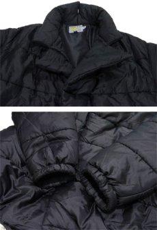 """画像4: 1990's """"W&LT"""" Design Patting Jacket"""" made in ITALY BLACK size S (4)"""