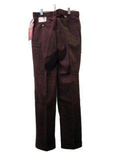 """画像4: 1990's """"Dickies"""" Corduroy Trousers DEAD STOCK  made in USA  BROWN size W32 x L32  (4)"""