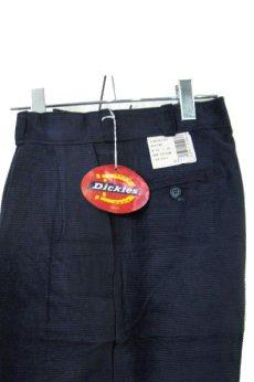 """画像1: 1990's """"Dickies"""" ヨコ畝 Corduroy Trousers DEAD STOCK  made in USA  NAVY size W32 x L30 (1)"""
