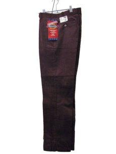 """画像2: 1990's """"Dickies"""" Corduroy Trousers DEAD STOCK  made in USA  BROWN size W32 x L32  (2)"""