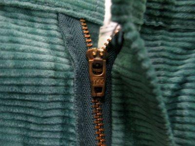 """画像1: 1990's """"Dickies"""" ヨコ畝 Corduroy Trousers DEAD STOCK  made in USA  Light Green size W31L34 / W34L32"""