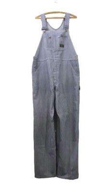 """画像1: 1970's """"Sears"""" Hickory Stripe Overall  size L  (表記 不明) (1)"""