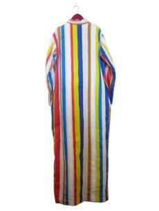 """画像2: ~1970's """"I.MAGNIN"""" Stand Collar Long Shirts Multi Stripe size Mぐらい (表記 M) (2)"""
