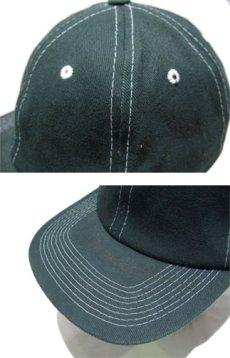 """画像4: 1990's~ """"FRONTIER"""" Cotton Baseball Cap DEADSTOCK GREEN size : one size (4)"""