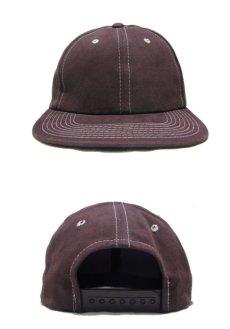 """画像2: 1990's~ """"FRONTIER"""" Cotton Baseball Cap DEADSTOCK BROWN size : one size (2)"""