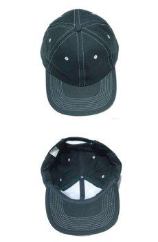 """画像3: 1990's~ """"FRONTIER"""" Cotton Baseball Cap DEADSTOCK GREEN size : one size (3)"""