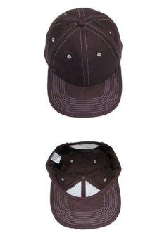 """画像3: 1990's~ """"FRONTIER"""" Cotton Baseball Cap DEADSTOCK BROWN size : one size (3)"""