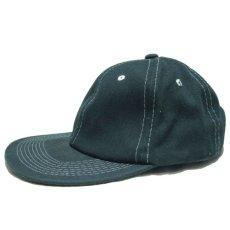 """画像1: 1990's~ """"FRONTIER"""" Cotton Baseball Cap DEADSTOCK GREEN size : one size (1)"""
