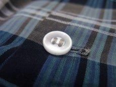 """画像5: 1960's """"TOWNCRAFT"""" OLD L/S Shirts Check Pattern BLUE 系 size L (表記 16 1/2 L  TALL) (5)"""