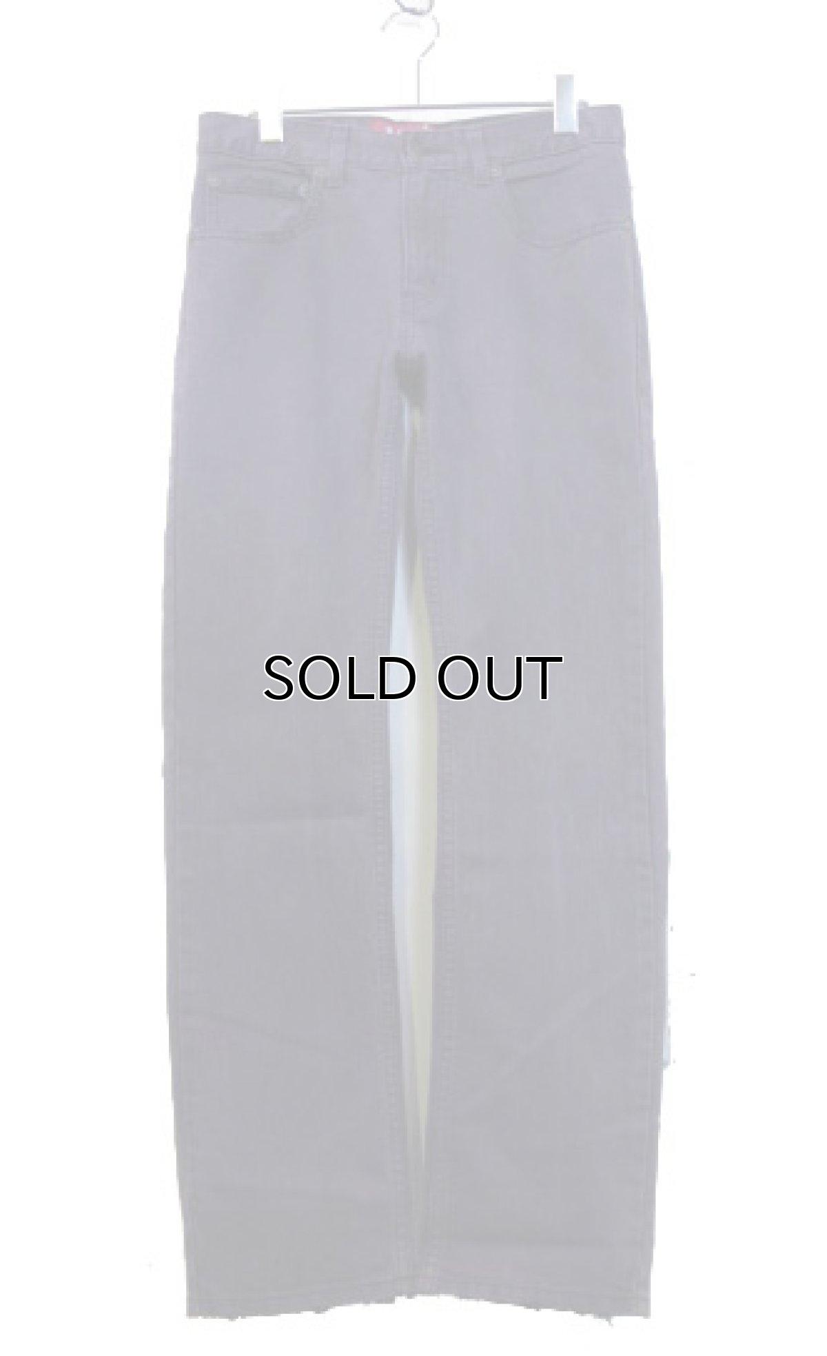 画像1: Levi's 511 Denim Skinny Pants color : PURPLE size w 29 inch  (表記 w28 L28) (1)