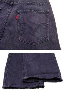 画像4: Levi's 511 Denim Skinny Pants color : PURPLE size w 29 inch  (表記 w28 L28) (4)