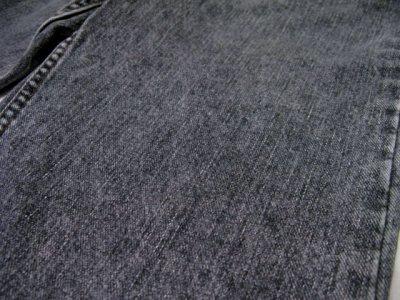 画像2: 1990's~ Levi's 550 Relaxed Fit Denim Tapered Pants Black Denim size 30 inch (表記 30 x 30)