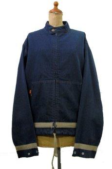 """画像1: 1970's """"Levi's"""" Stand Collar Denim Jacket made in USA Blue Denim size M-L位 (表記 なし) (1)"""
