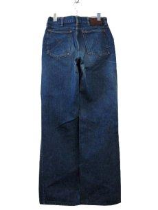 """画像2: ~1950's""""GAUCHOS"""" Indigo Denim 5Pocket Pants """"Leather Patch"""" size  w 28 inch (表記 なし) (2)"""