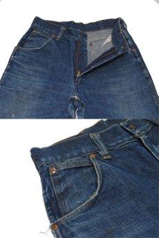 """画像5: ~1950's""""GAUCHOS"""" Indigo Denim 5Pocket Pants """"Leather Patch"""" size  w 28 inch (表記 なし) (5)"""