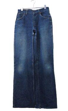 """画像1: ~1950's""""GAUCHOS"""" Indigo Denim 5Pocket Pants """"Leather Patch"""" size  w 28 inch (表記 なし) (1)"""