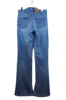 画像2: A)1980's~ Levi's 517 Stretch Denim Pants made in USA Blue Denim size 32.5 inch (表記 33 x 32) (2)