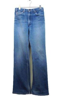 画像1: A)1980's~ Levi's 517 Stretch Denim Pants made in USA Blue Denim size 32.5 inch (表記 33 x 32) (1)