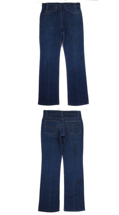 画像1: B)1980's~ Levi's 517 Stretch Denim Pants made in USA Blue Denim size 32 inch (表記 32 x 31)