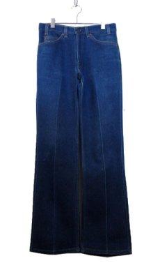 画像1: B)1980's~ Levi's 517 Stretch Denim Pants made in USA Blue Denim size 32 inch (表記 32 x 31) (1)