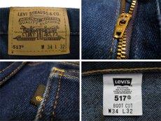 画像3: C)00's~ Levi's 517 Stretch Denim Pants made in GUATEMALA Blue Denim size 33.5 inch (表記 34 x 32) (3)
