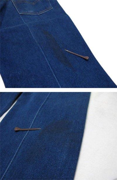 画像2: B)1980's~ Levi's 517 Stretch Denim Pants made in USA Blue Denim size 32 inch (表記 32 x 31)