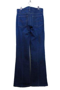 画像2: B)1980's~ Levi's 517 Stretch Denim Pants made in USA Blue Denim size 32 inch (表記 32 x 31) (2)