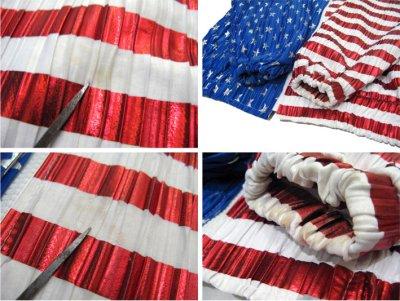 """画像2: 1990's """"Jacket by Design"""" Zip Up Jacket """"American Flag"""" WHITE / BLUE RED size M位 (表記 不明)"""