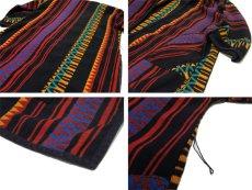 画像3: 1970's~ OLD Blanket Gown Native Pattern (総柄) size Free (表記 なし) (3)