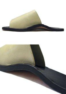 "画像4: JUTTA NEUMANN ""SAM"" BORNE Leather Sandal  size 10 D (4)"