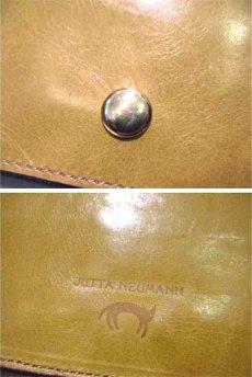 """画像5: """"JUTTA NEUMANN"""" Leather Wallet """"the Waiter's Wallet""""  color : Mustard / Pink 長財布 (5)"""