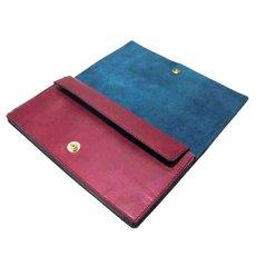 """画像3: """"JUTTA NEUMANN"""" Leather Wallet """"the Waiter's Wallet""""  color : Burgundy / Emerald 長財布 (3)"""