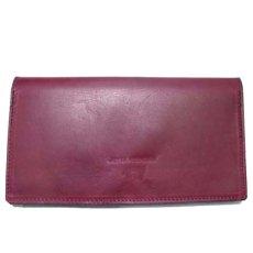 """画像2: """"JUTTA NEUMANN"""" Leather Wallet """"the Waiter's Wallet""""  color : Burgundy / Yellow 長財布 (2)"""