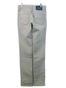 画像2: Levi's 510 Super Skinny Denim Pants SAND BEIGE size 30 inch (表記 w29 L30) (2)