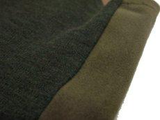"""画像5: 1930's """"Bloomingdales"""" Cotton / Wool Vest Olive Green size M (表記 M) (5)"""