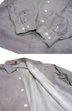 """画像5: 1960's """"CLUBMAN"""" L/S Box Style Shirts size L (表記 L 16 - 16 1/2) (5)"""