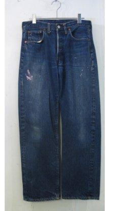 "画像1: 1960's Levi Strauss & Co. 501 Big ""E"" S-type Indigo Blue size 30.5 inch (表記  31 x x31) (1)"