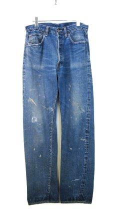 "画像1: 1960's Levi Strauss & Co. 501 Big ""E"" type Indigo Blue size w 31.5 inch (1)"