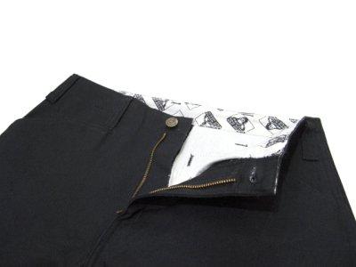 "画像1: BEN DAVIS  ""THE GORILLA CUT"" Wide Work Pants BLACK size w 30 / w 32"