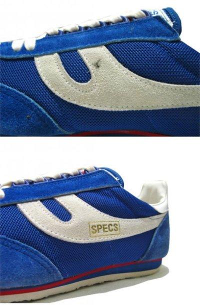 """画像1: ~1980's """"SPECS"""" Running Shoes DEADSTOCK made in KOREA BLUE size 12"""
