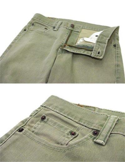 画像3: Levi's 511 Cotton Skinny Pants Bright Green size w 31 inch (表記 w30 L30)