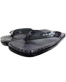 """画像1: NEW """"SENSI"""" Shower Sandal made in ITALY BLACK size 9 (1)"""