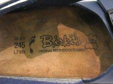 """画像4: BIRKENSTOCK Birki's """"Milano"""" NAVY size 24.5 cm narrow (Men's 5 Lady's 7) (4)"""