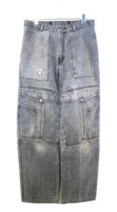 """画像1: 1980's """"VASCO"""" Design Black Denim Pants Fade Black size 31.5 inch (表記 w 31) (1)"""
