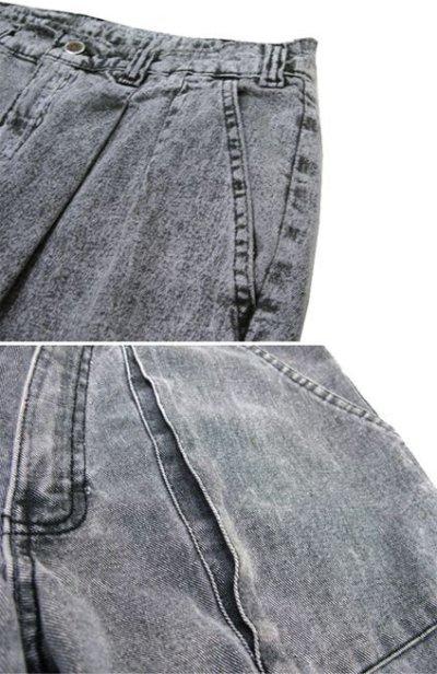 """画像1: 1980's """"VASCO"""" Design Black Denim Pants Fade Black size 31.5 inch (表記 w 31)"""