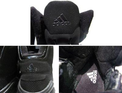 画像1: adidas Hi-Cut Basketball Shoes BLACK size 10 (28cm )