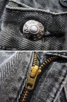 """画像4: 1980's """"VASCO"""" Design Black Denim Pants Fade Black size 31.5 inch (表記 w 31) (4)"""
